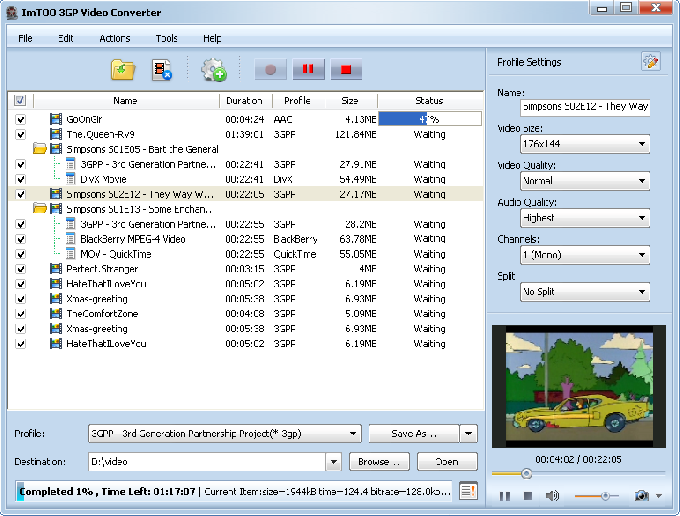 ImTOO 3GP Video Converter 3.1.6 скачать программу. решебникипо истории h