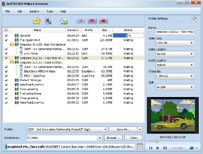 Free 3GP Video Converter 5.0.47.906 - скачать бесплатно Free. МАСТЕР КЛ