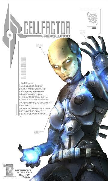لعبة الاكشن الخطيرة CellFactor: Revolution