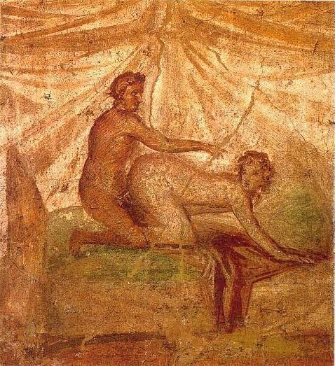 Сексуальные вакханалии в древнем риме