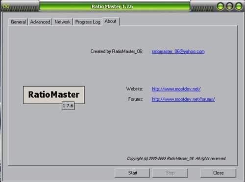 RatioMaster-1.9.1.RUS Накрутка рейтинга на торентах